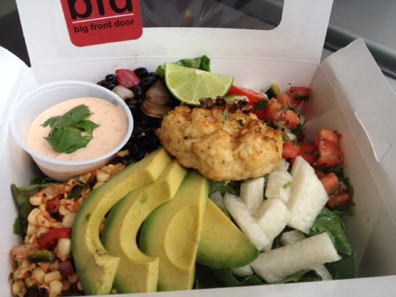 Try The Best Salads In San Diego Big Front Door Deli